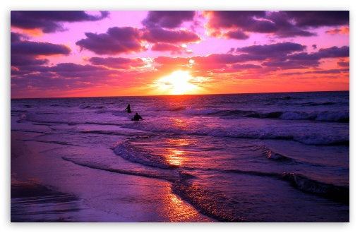 Purple And Red Sunsets 11 red sunset hd wallpaper for 510x330