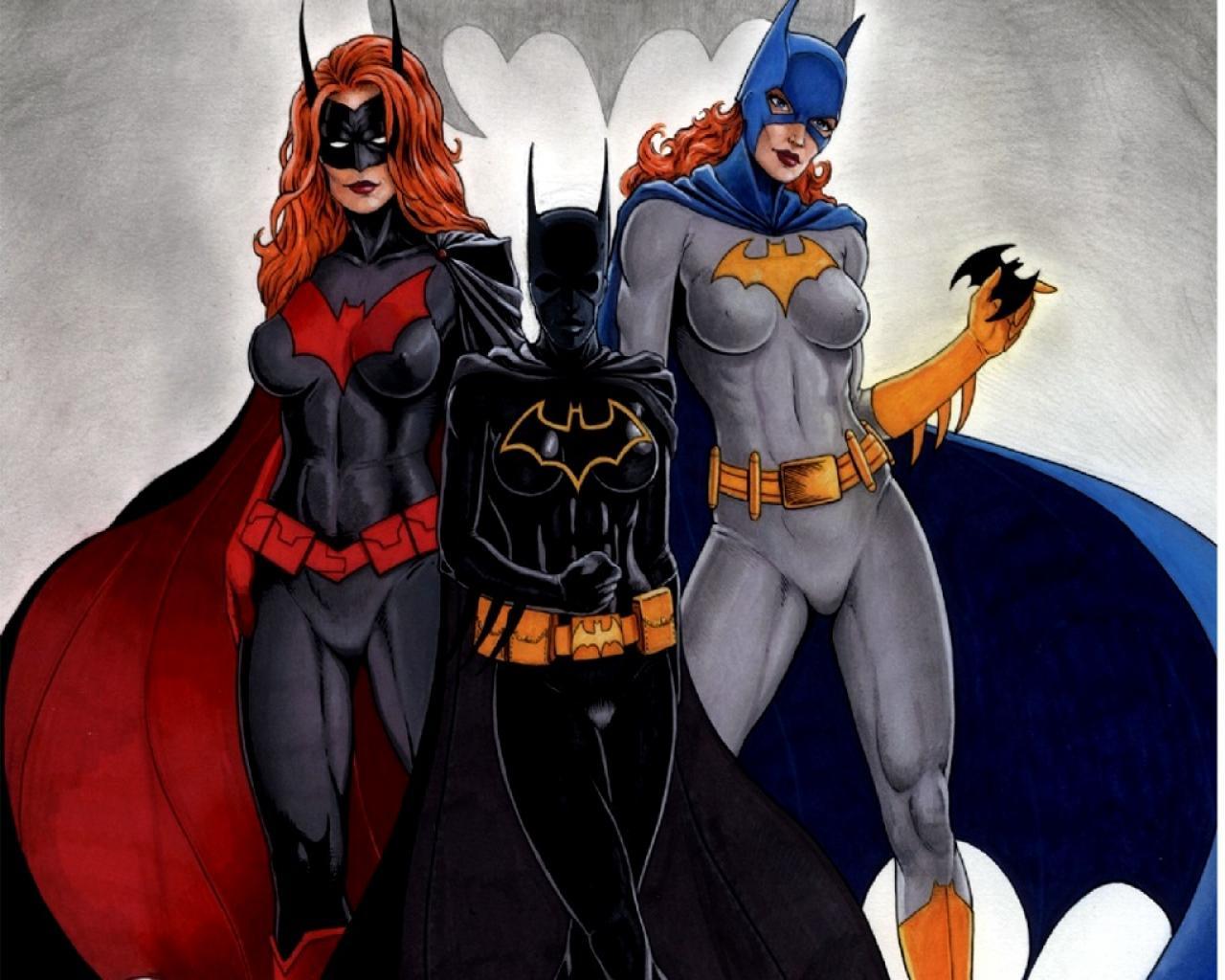 dc comics batgirl batwoman barbara gordon HD Wallpaper of Cartoon 1280x1024