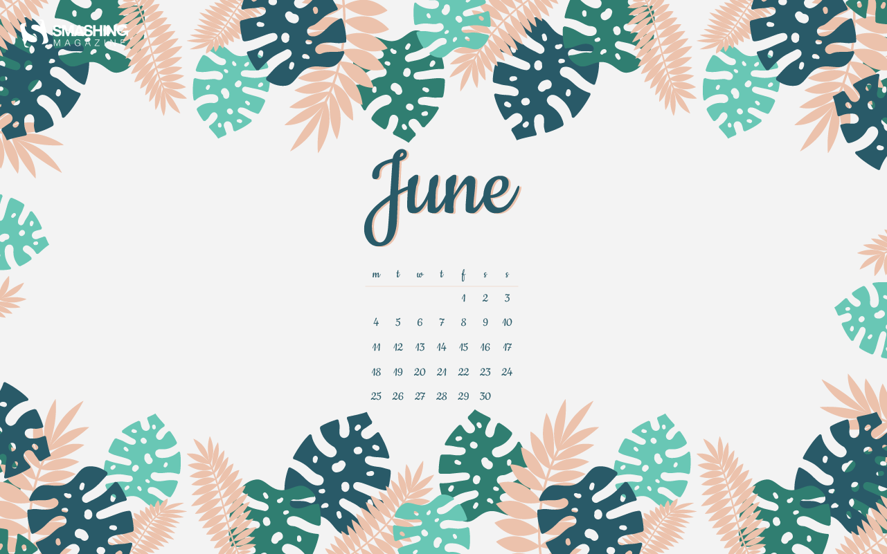 Cheerful Desktop Wallpapers To Kick Off June 2018 Edition 1281x801