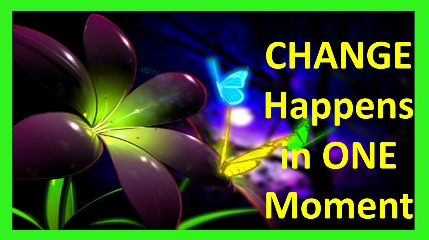 Choose to Change Your Life Starts to Change Change your Words 1425x799