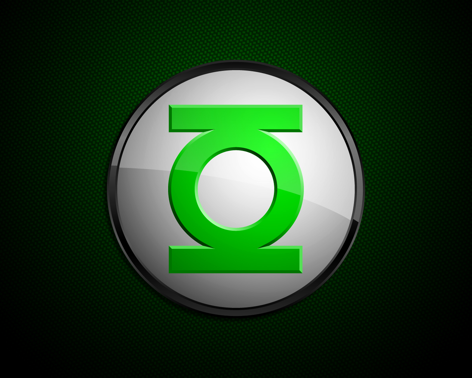 Green Lantern Comics Logo Minimal HD Wallpapers Download 1600x1280