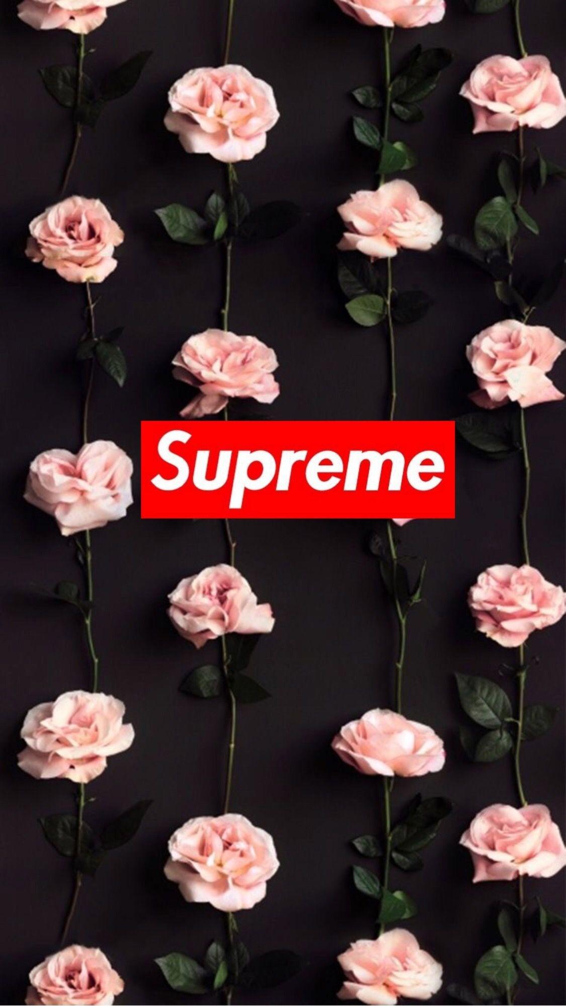 47 Supreme Floral Iphone Wallpaper On Wallpapersafari