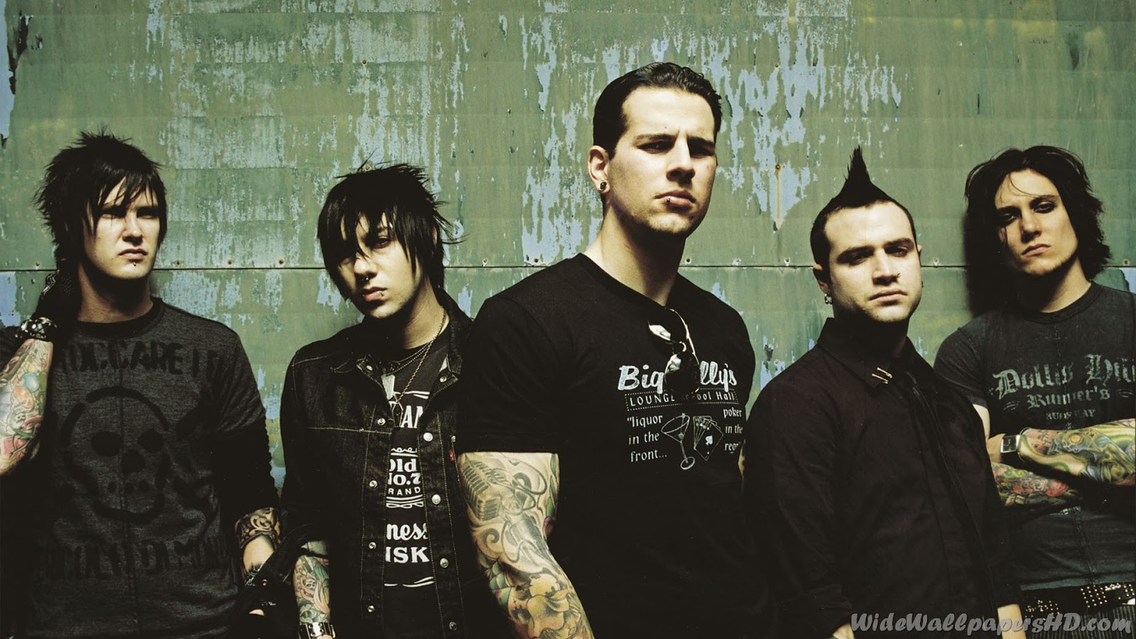 wallpapers hd for mac Avenged Sevenfold Wallpaper High Definition 1600x900