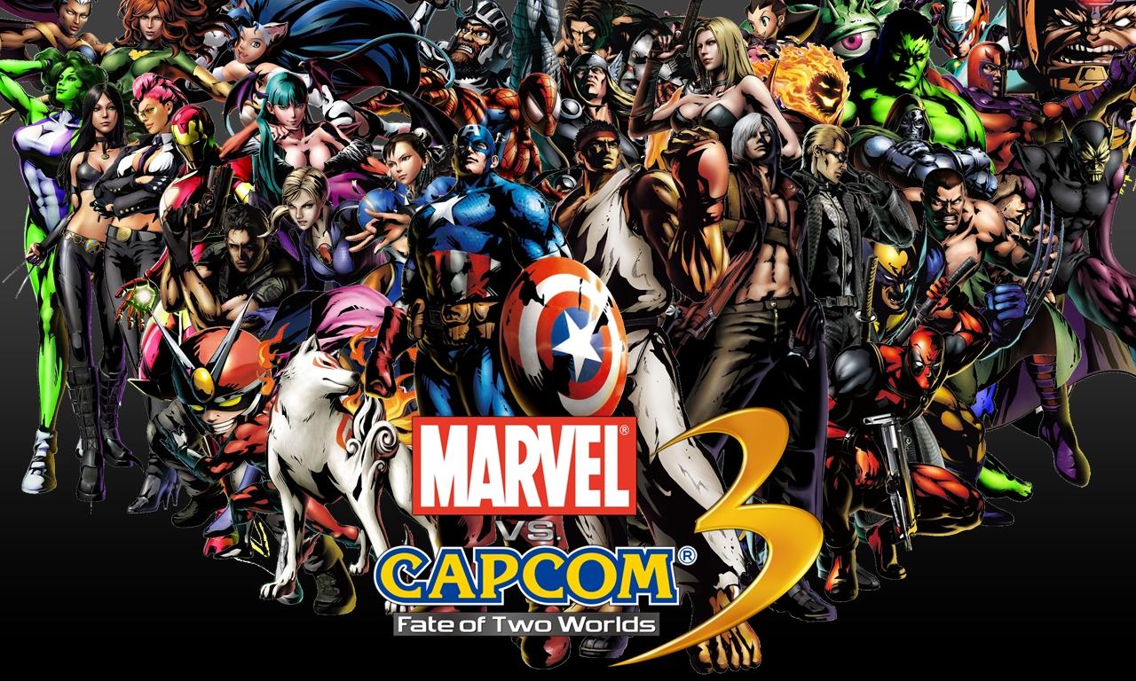 Marvel Vs Capcom 3 Wallpaper Wallpapersafari