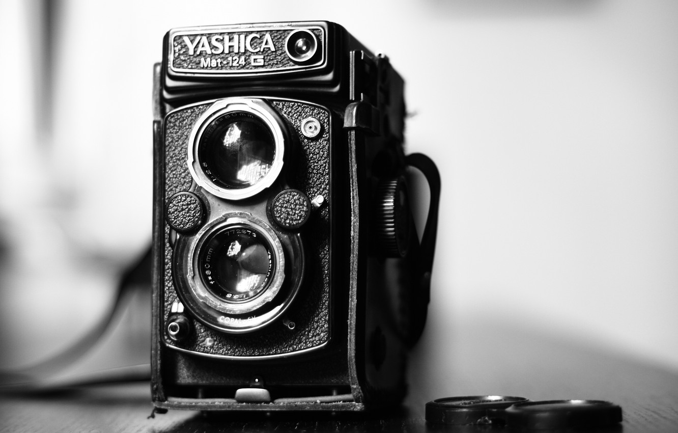 Wallpaper macro camera Yashica MAT 124G images for desktop 1332x850