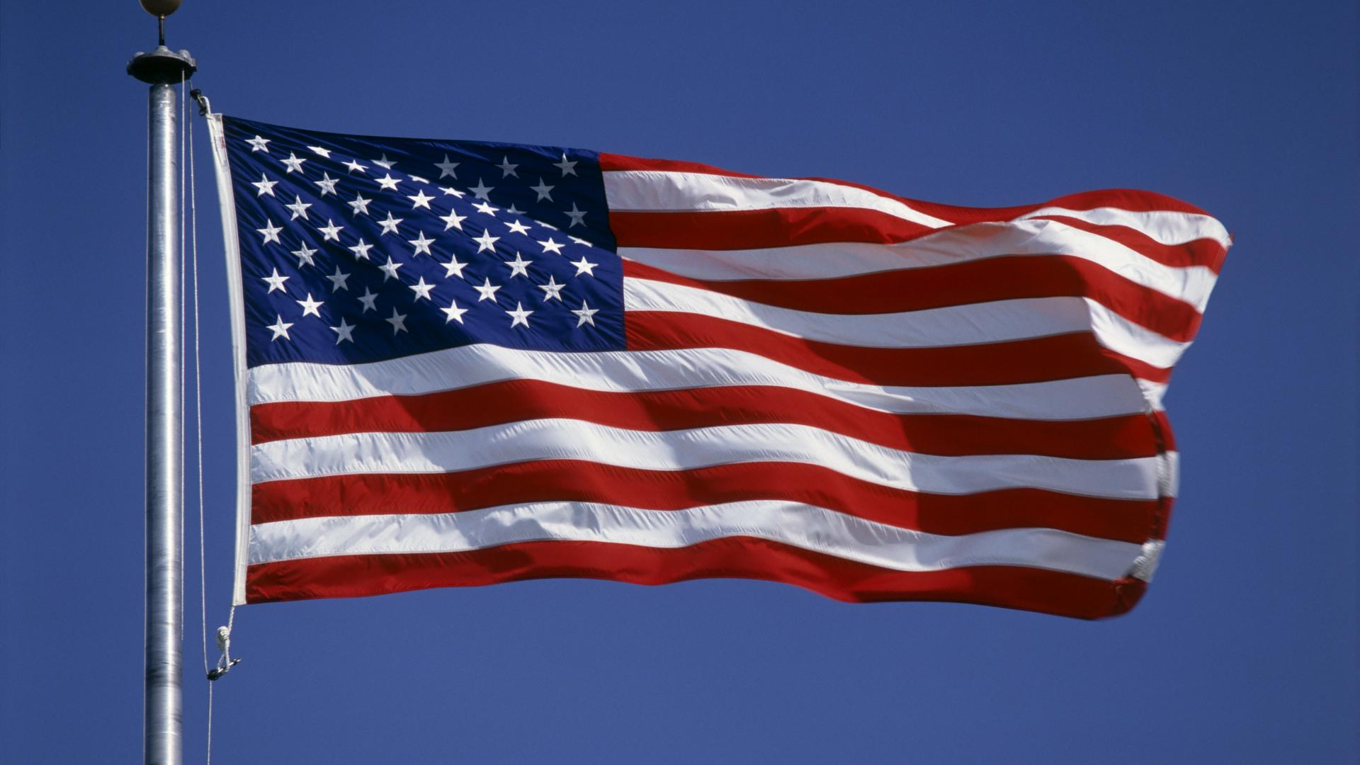 USA American Flag Desktop Wallpaper 1920x1080