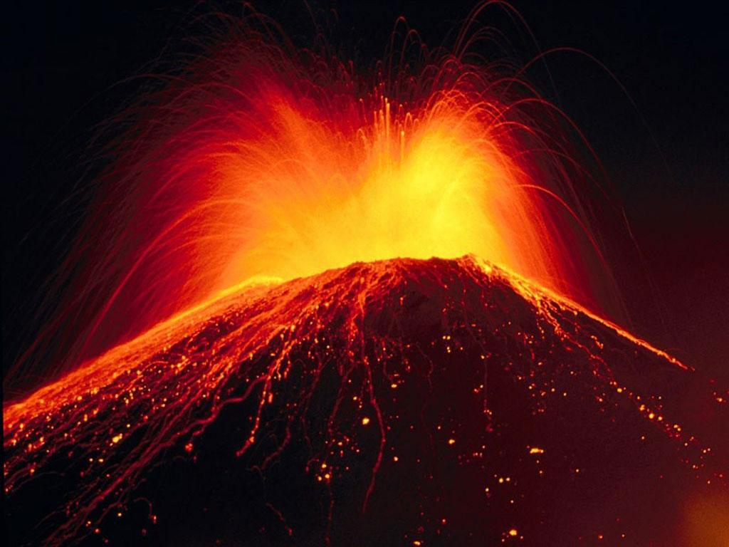 Beautiful Volcano Eruption Wallpaper HD wallpapers   Beautiful Volcano 1024x768