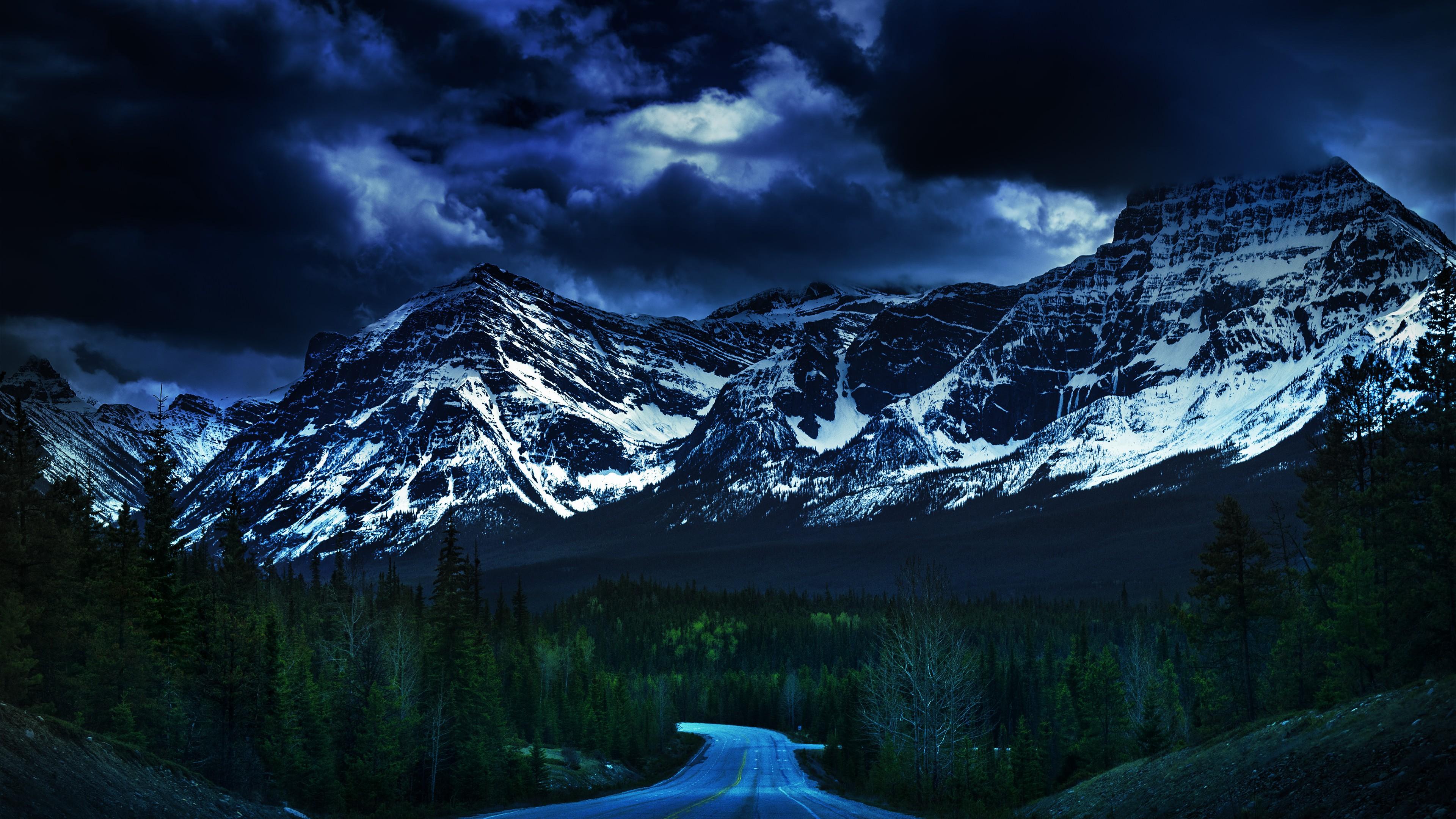 Falling Darkness HD wallpaper for 4K 3840 x 2160   HDwallpapersnet 3840x2160