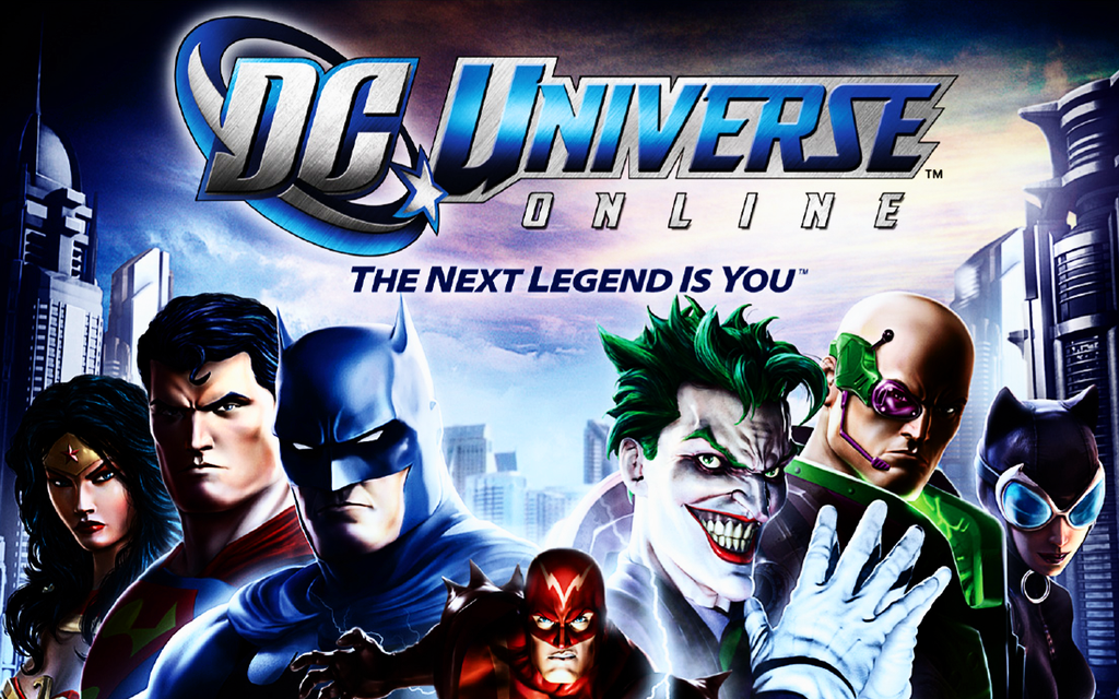 DC Universe Online is now to play and to download from the 1024x640