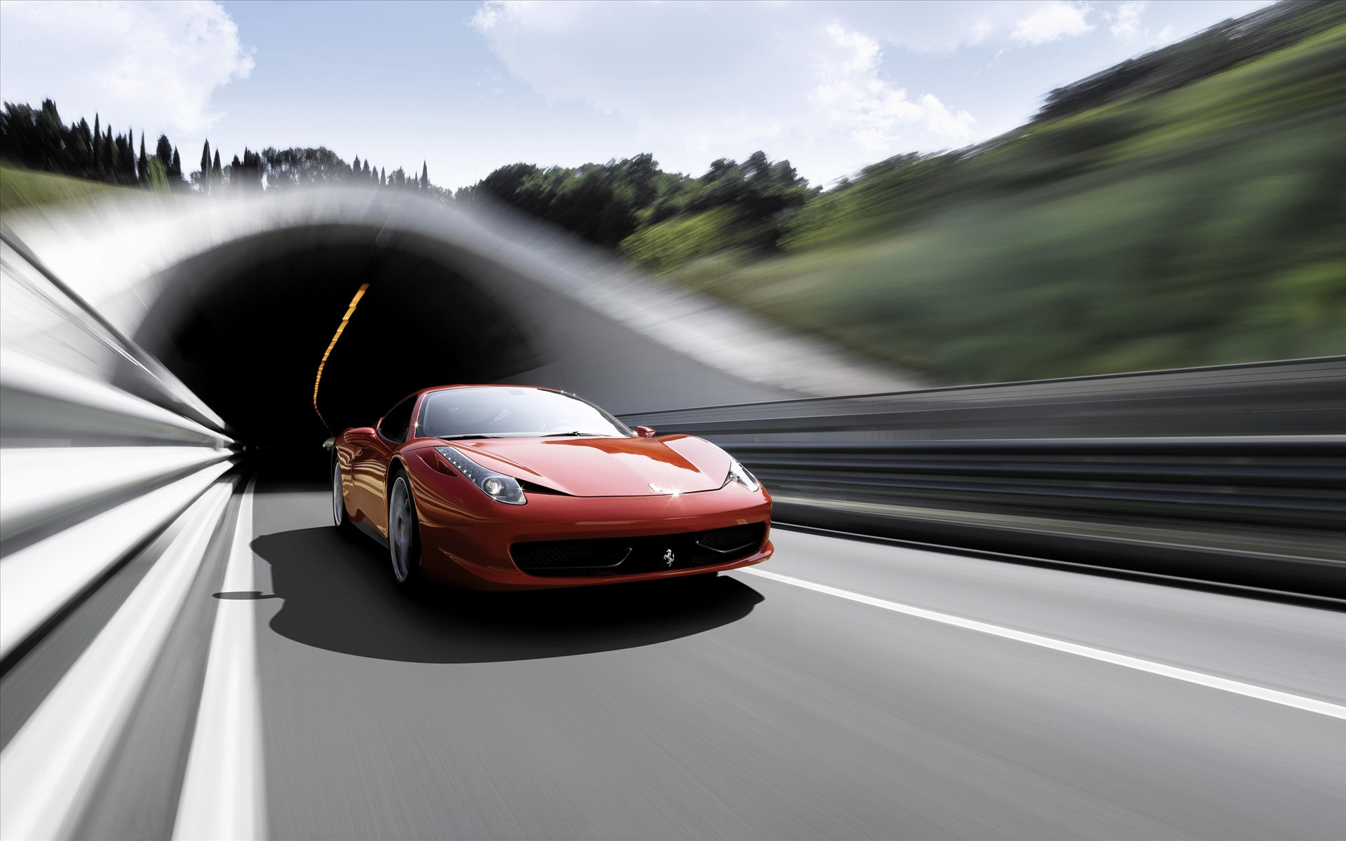 Ferrari 458 Italia Supercar 4 Wallpapers HD Wallpapers 1920x1200
