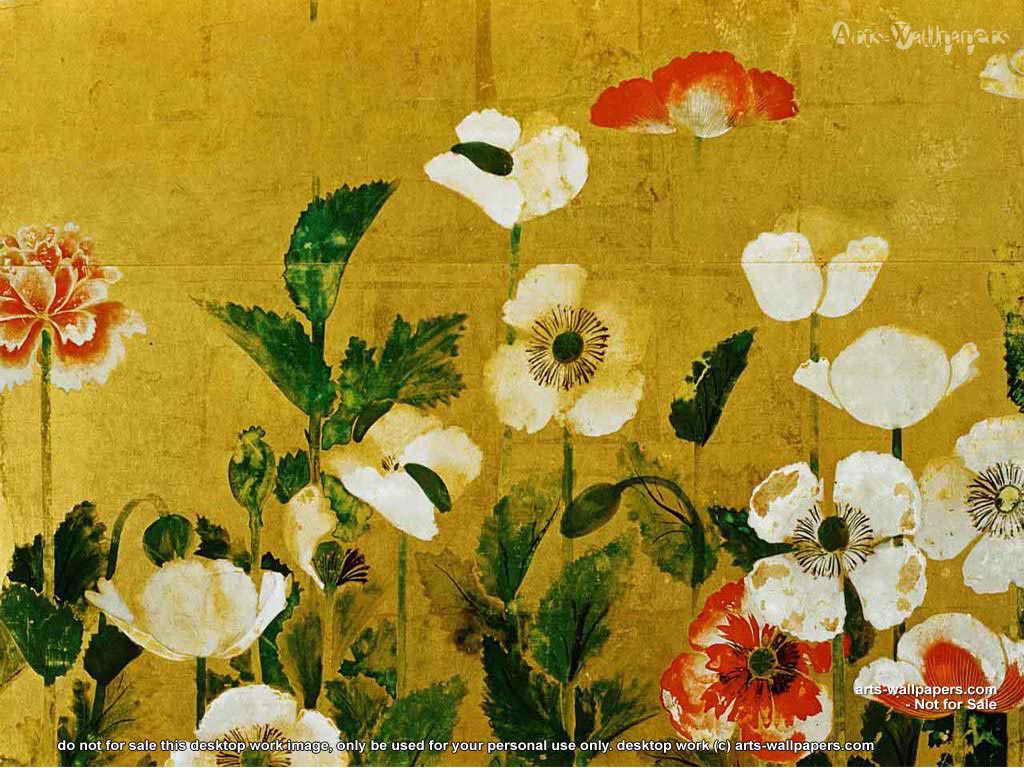 Japanese Art Wallpaper 1024 x 768 1024x768