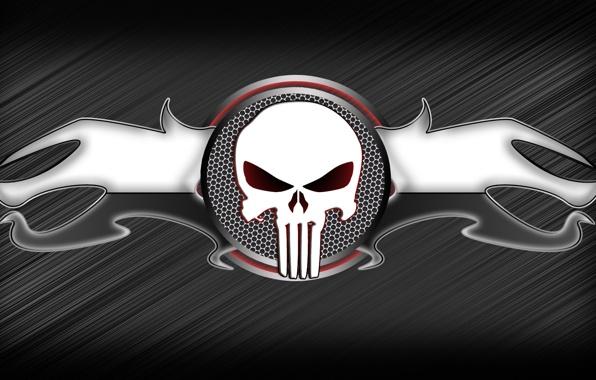 Wallpaper skull metallic black out wallpapers miscellanea   download 596x380