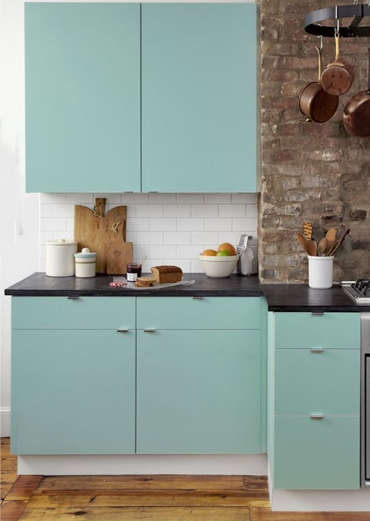 Clever Ways to Customize Kitchen Cabinets With Contact Paper 540x760