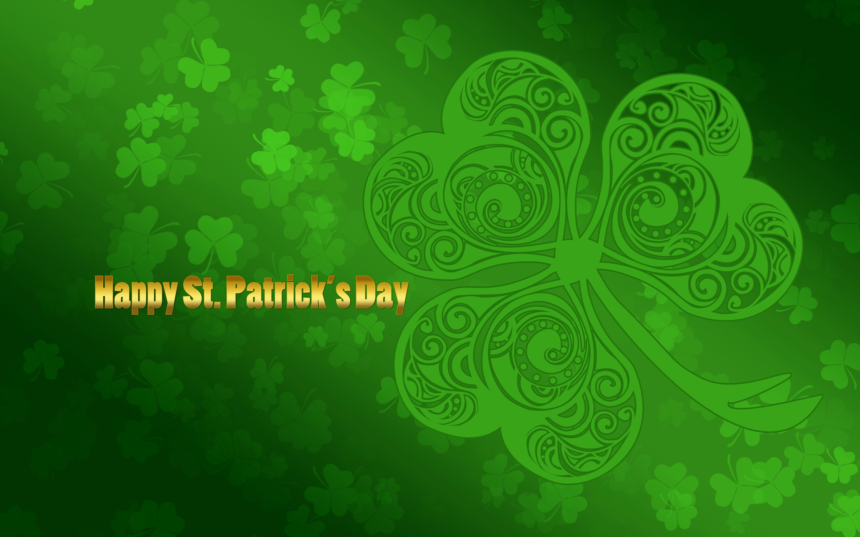 Happy Saint Patrick S Day   St Patricks Day Wallpaper Download 2880x1800