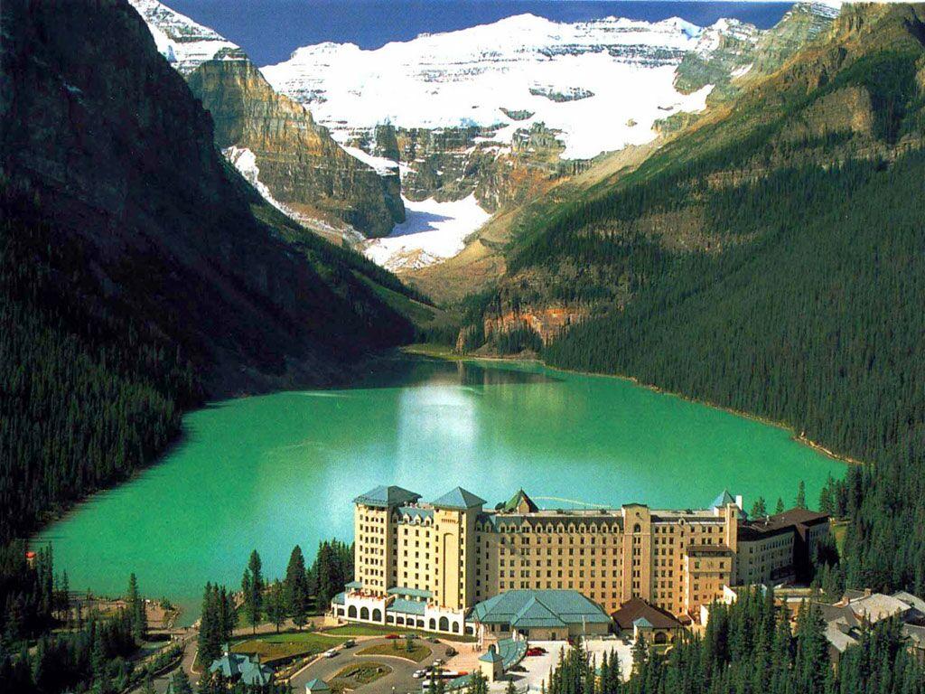 Alberta Saskatchewan Canada   Nature Wallpaper Image featuring Lakes 1024x768