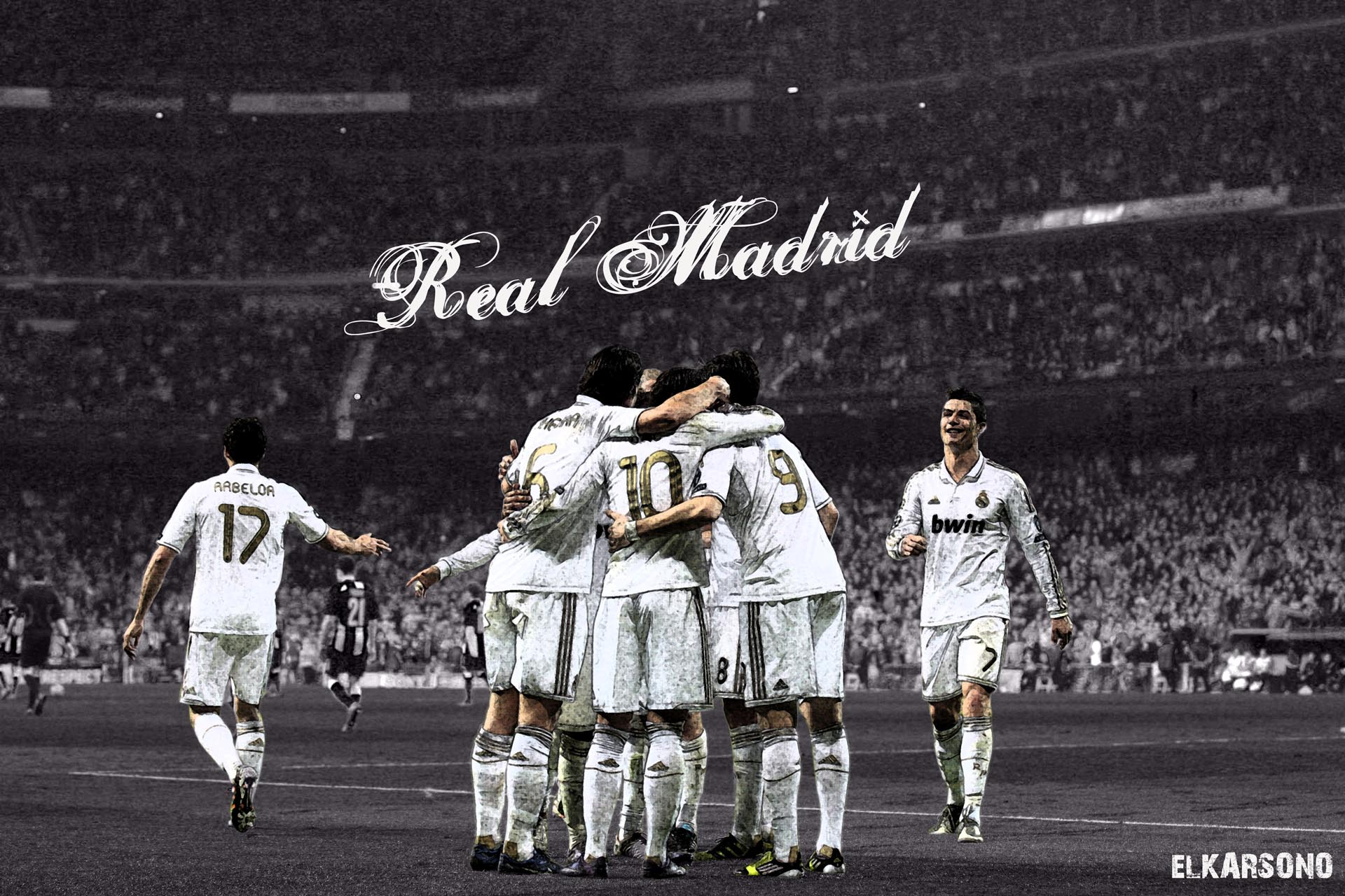 28 Real Madrid Celebrating Wallpapers Hd 2017 On