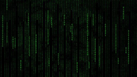 Matrix Binary Code Binary code background 550x309