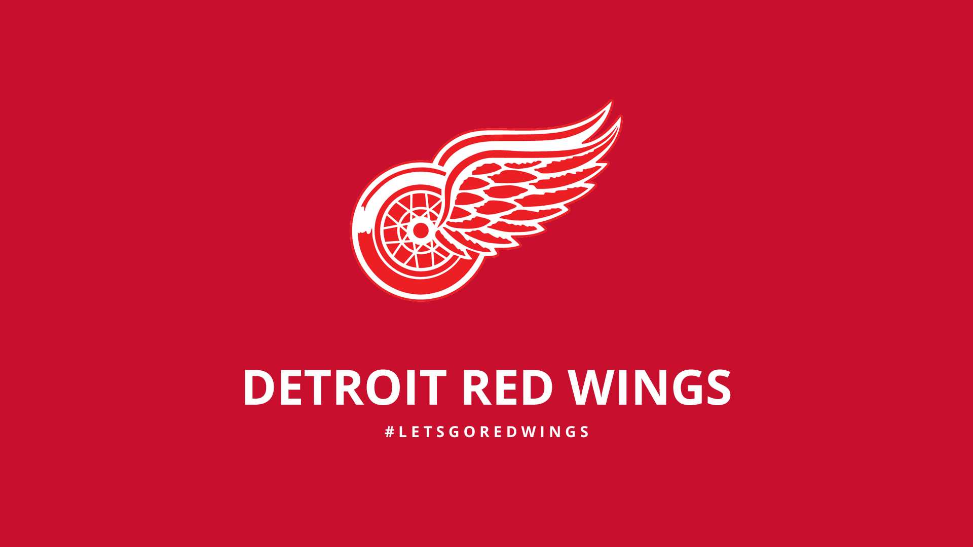 Minimalist Detroit Red Wings wallpaper by lfiore 1920x1080