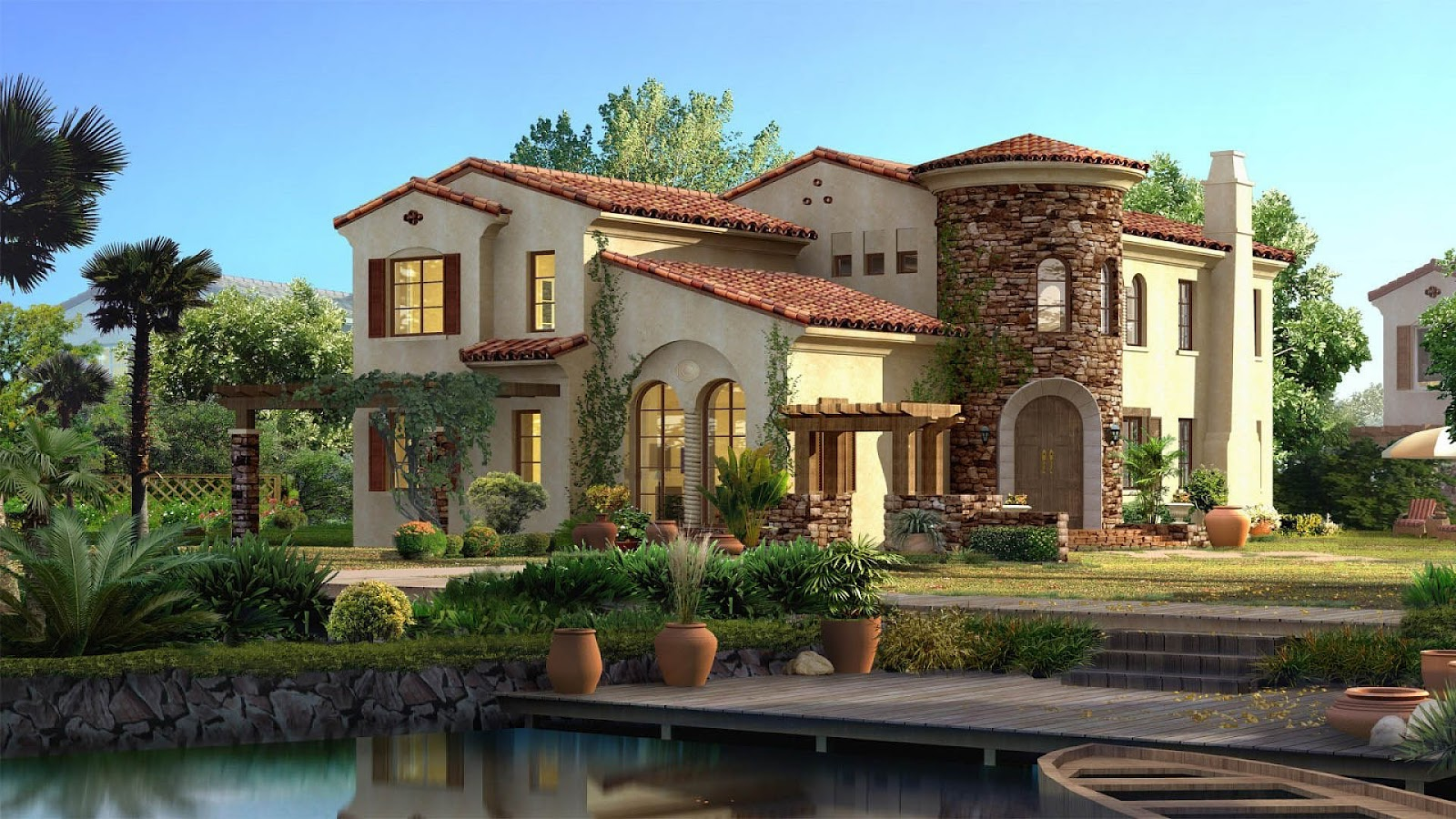 beautiful house hd wallpapers cool desktop pictures widescreen 1600x900