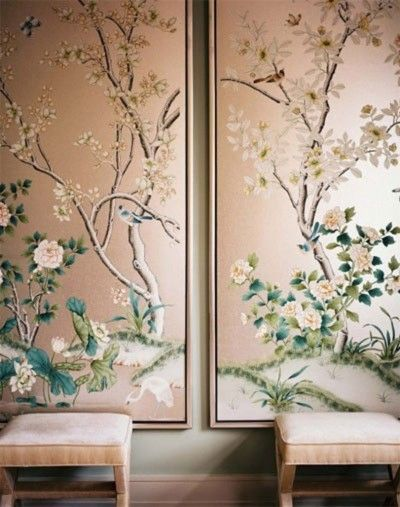 Creative Ideas for Using Wallpaper Home Decorating Pinterest 400x507