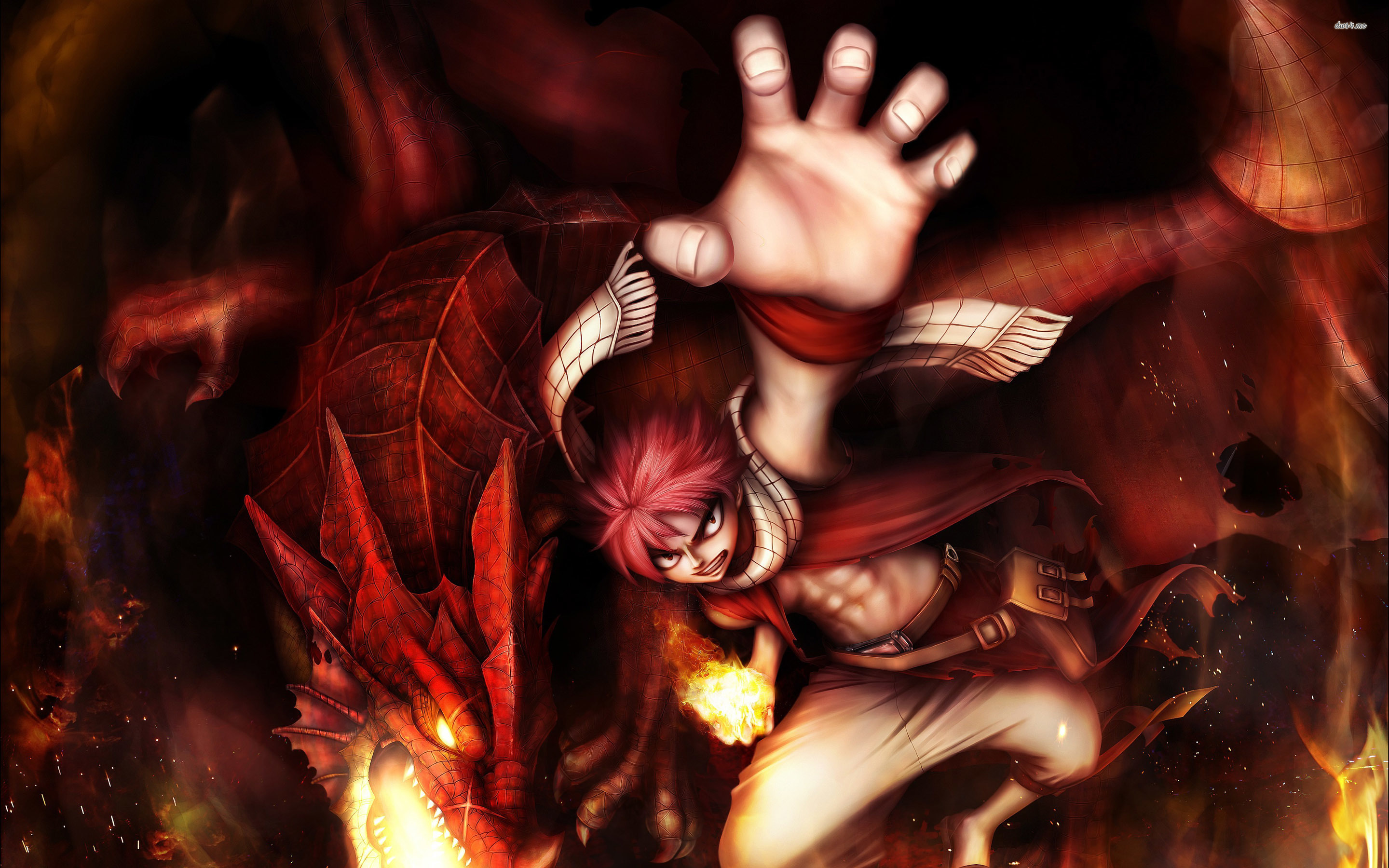NATSU DRAGNEEL   FAIRY TAIL WALLPAPER   HD Wallpaper Expert 2880x1800
