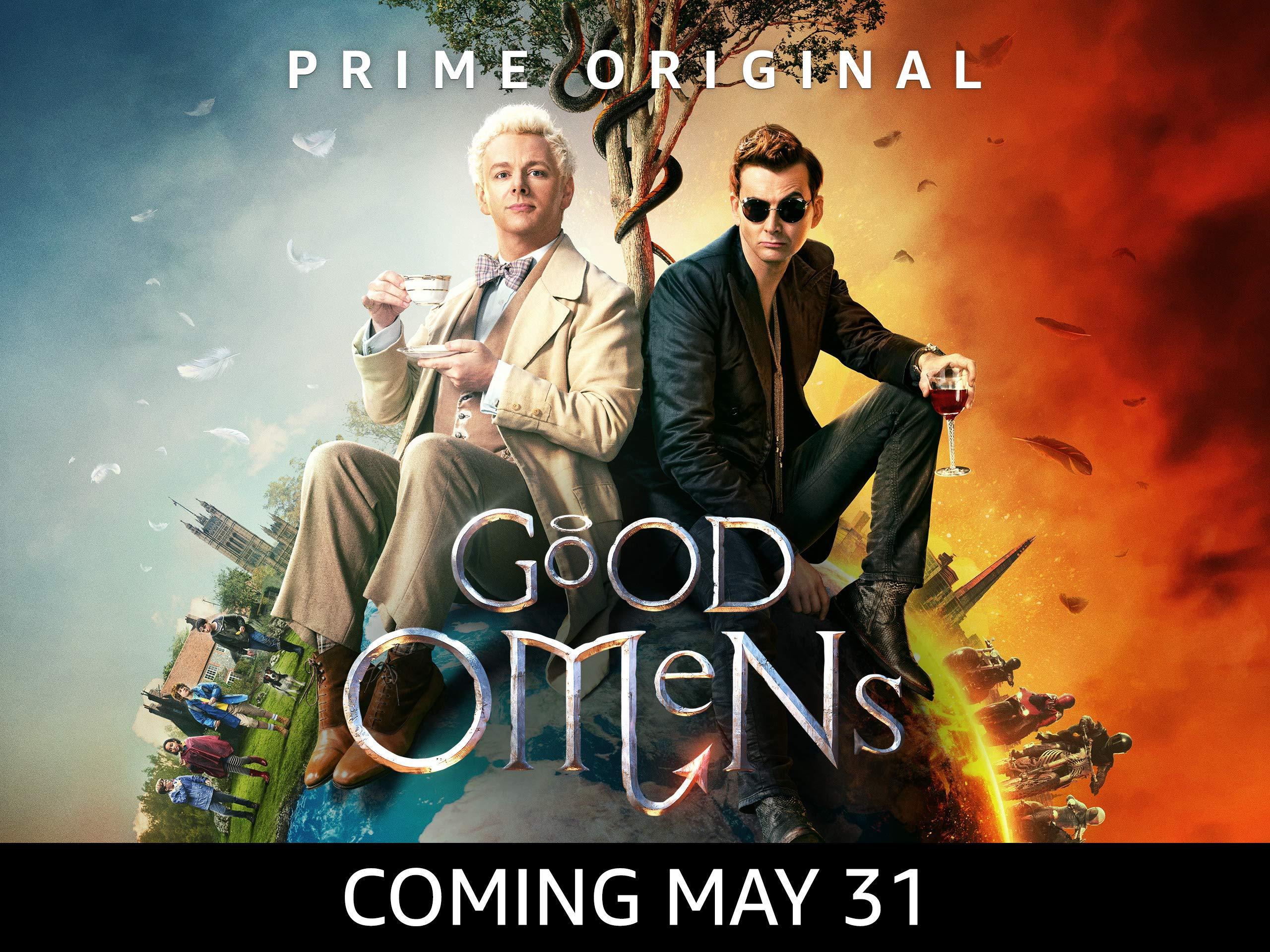 Amazoncom Watch Good Omens   Season 1 4K UHD Prime Video 2560x1920