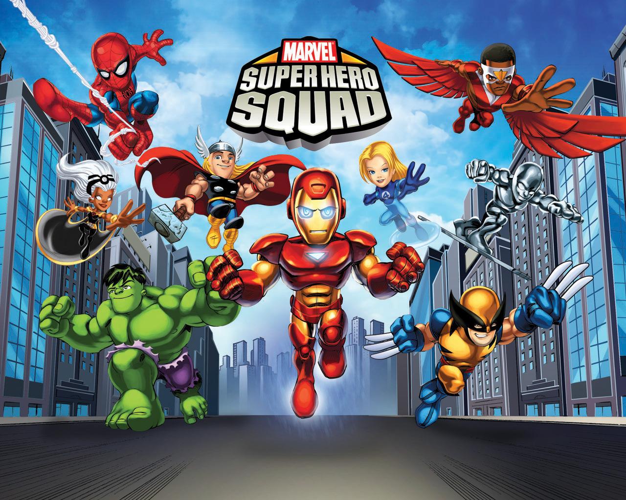Home Wallpaper Marvel Super Hero Squad Marvel Super Hero Squad 1280x1024