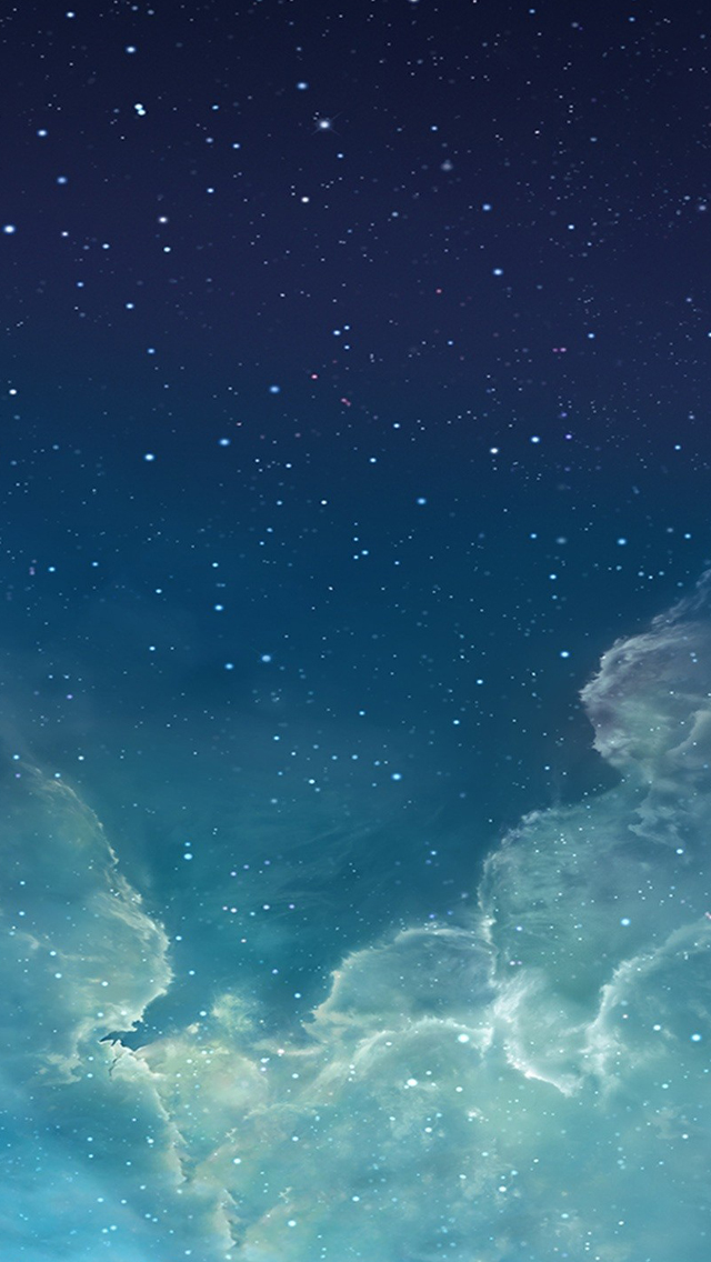 Starry night sky iPhone 5s Wallpaper Download iPhone Wallpapers 640x1136