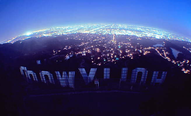 Hollywood Sign wallpaper 655x400