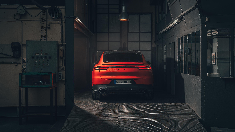 Porsche Cayenne Turbo Coupe 2019 4K 4 Wallpaper HD Car 6000x3375