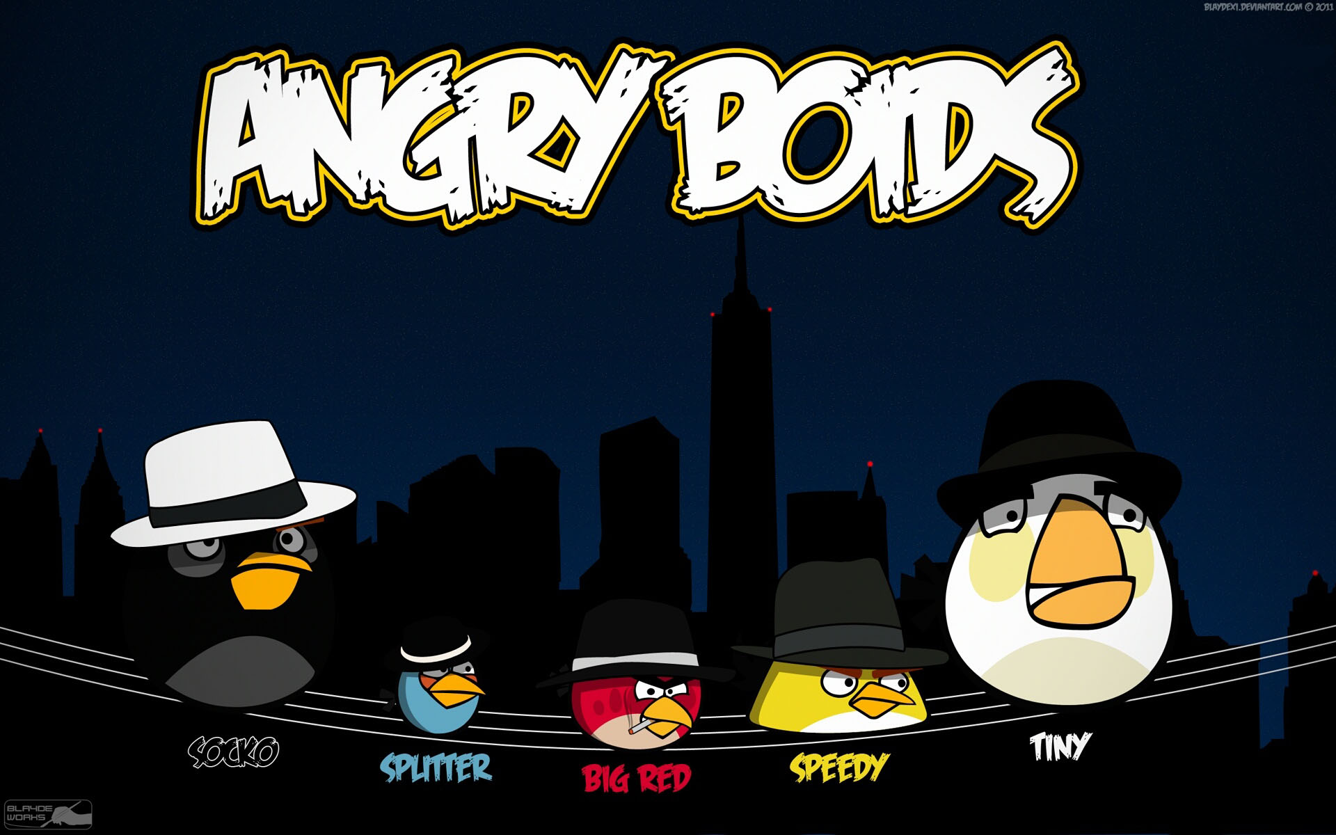 angry birds wallpaper hd 2 Top windows 7 themes 1920x1200