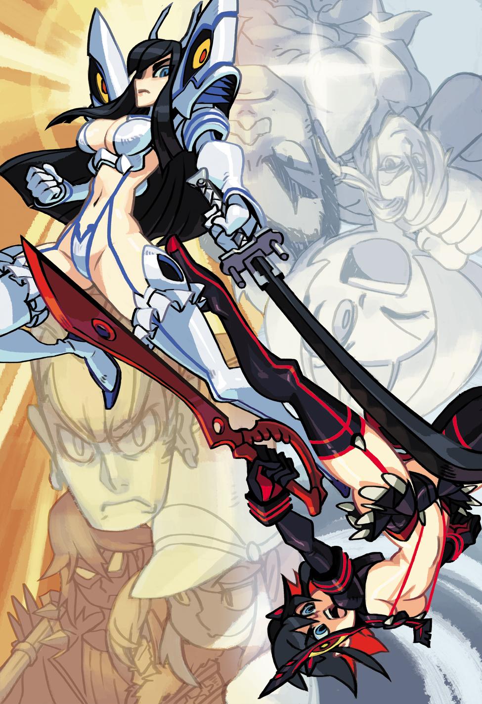 Kill la Kill Satsuki and Ryuko by oh8 975x1425