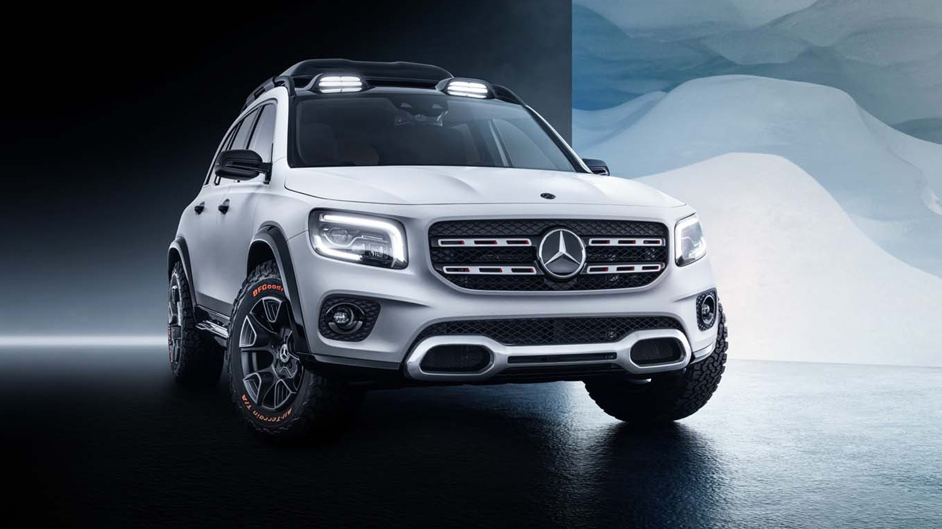 GLB concept previews a more rugged Mercedes compact SUV 1920x1080