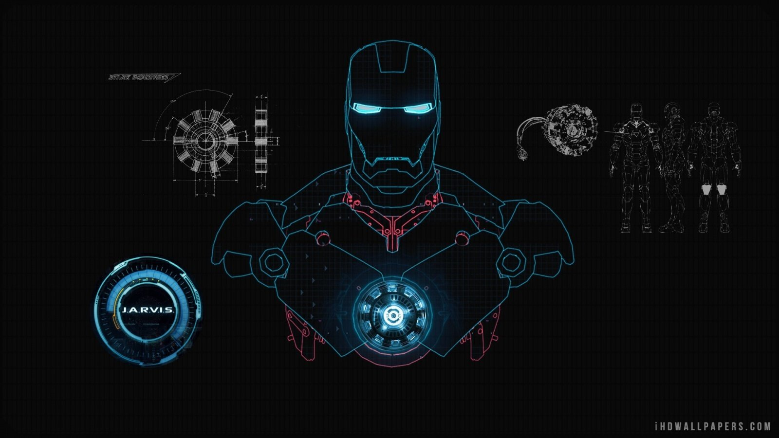 Iron Man JARVIS HD Wallpaper   iHD Wallpapers 1600x900