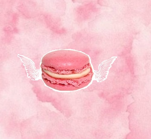 Macaroon Tumblr We Heart It HD Background Wallpaper 500x460