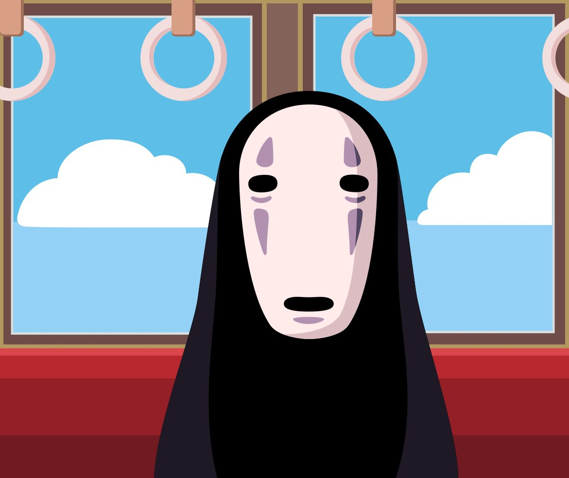 No Face Spirited Away Wallpaper - WallpaperSafari
