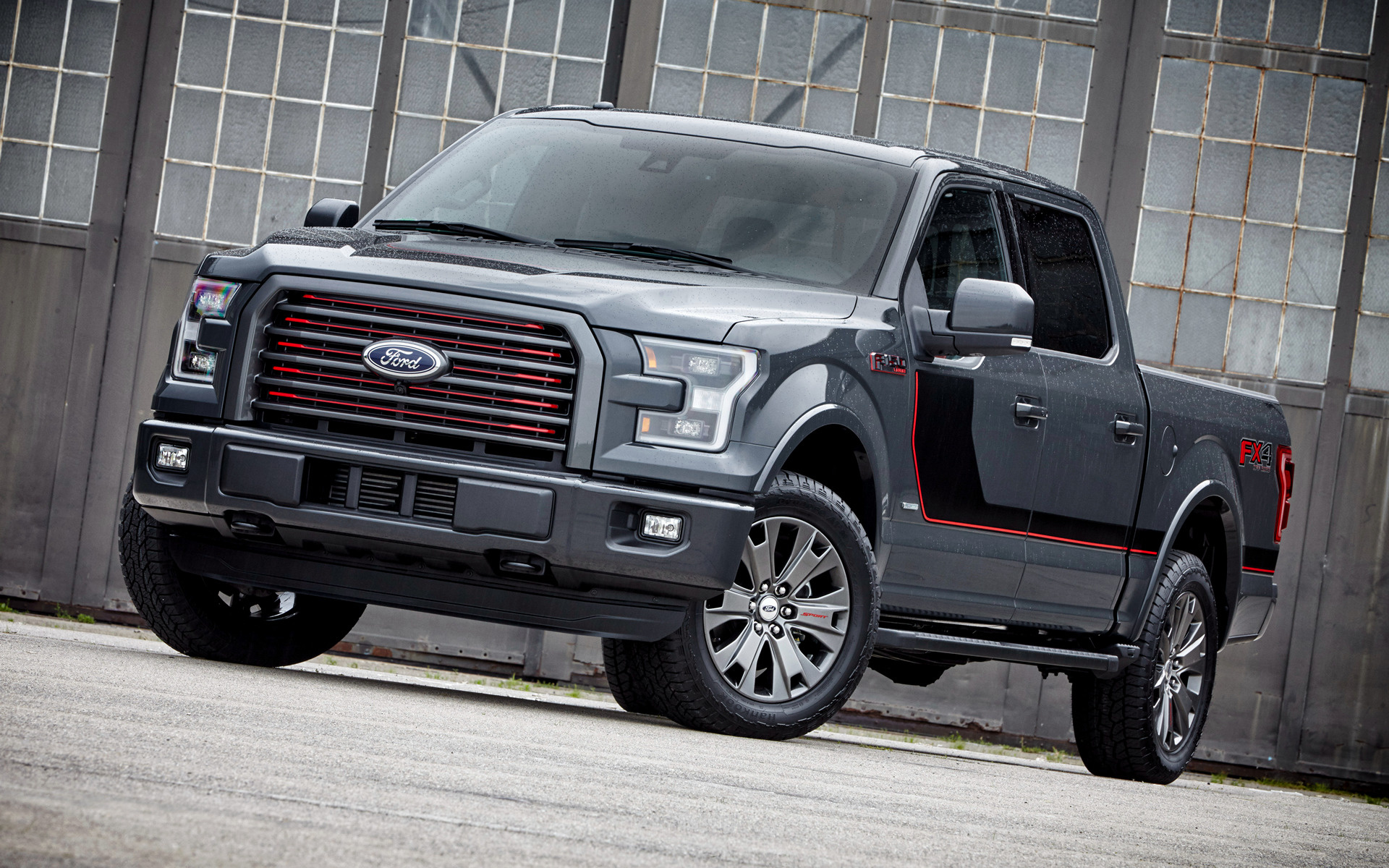 Ford F 150 Lariat FX4 SuperCrew Appearance Package 2016 Wallpapers 1920x1200