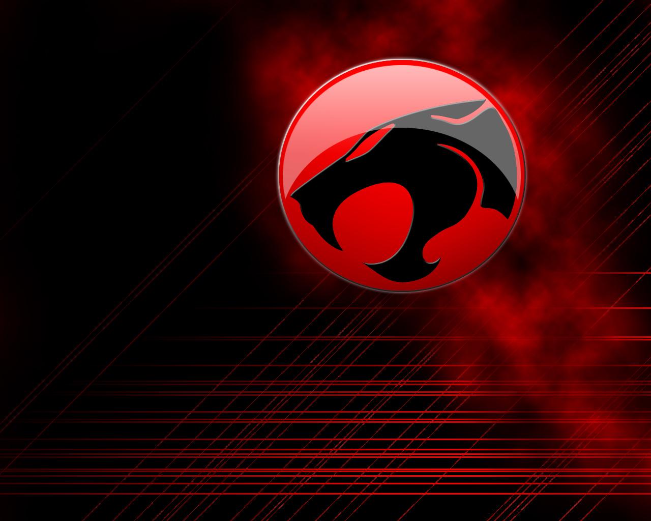 Red Logo Thundercats Wallpaper HD wallpaper   Red Logo Thundercats 1280x1024