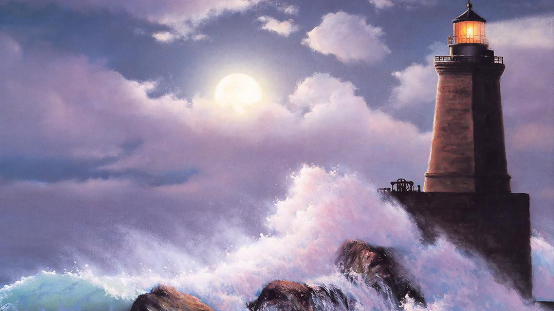 Lighthouse Hd Wallpapers: Desktop Wallpaper Lighthouse Storm