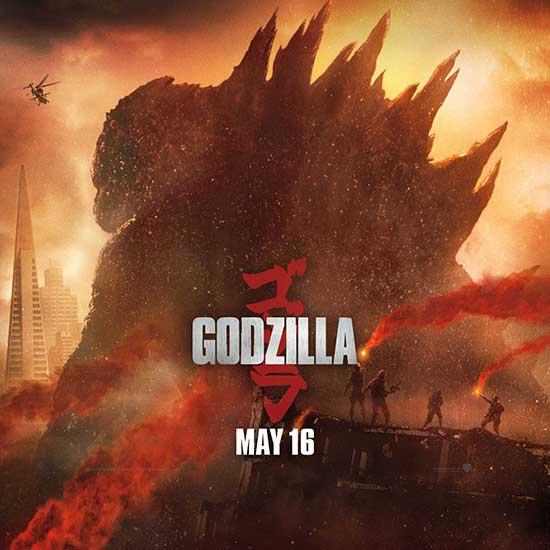 Godzilla Movie 2014 HD iPhone iPad Wallpapers 550x550