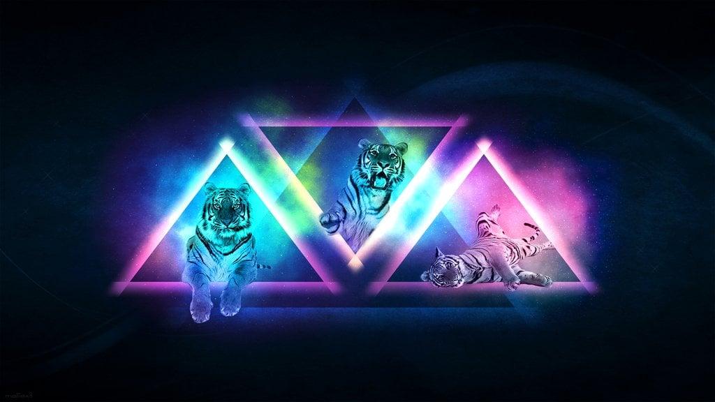 Cool Tiger Backgrounds Wallpapersafari