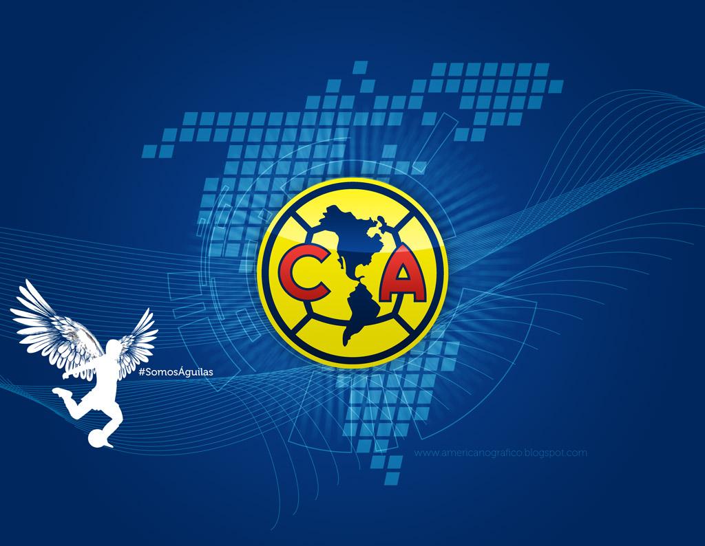 Logo Club America Wallpaper 1024x794