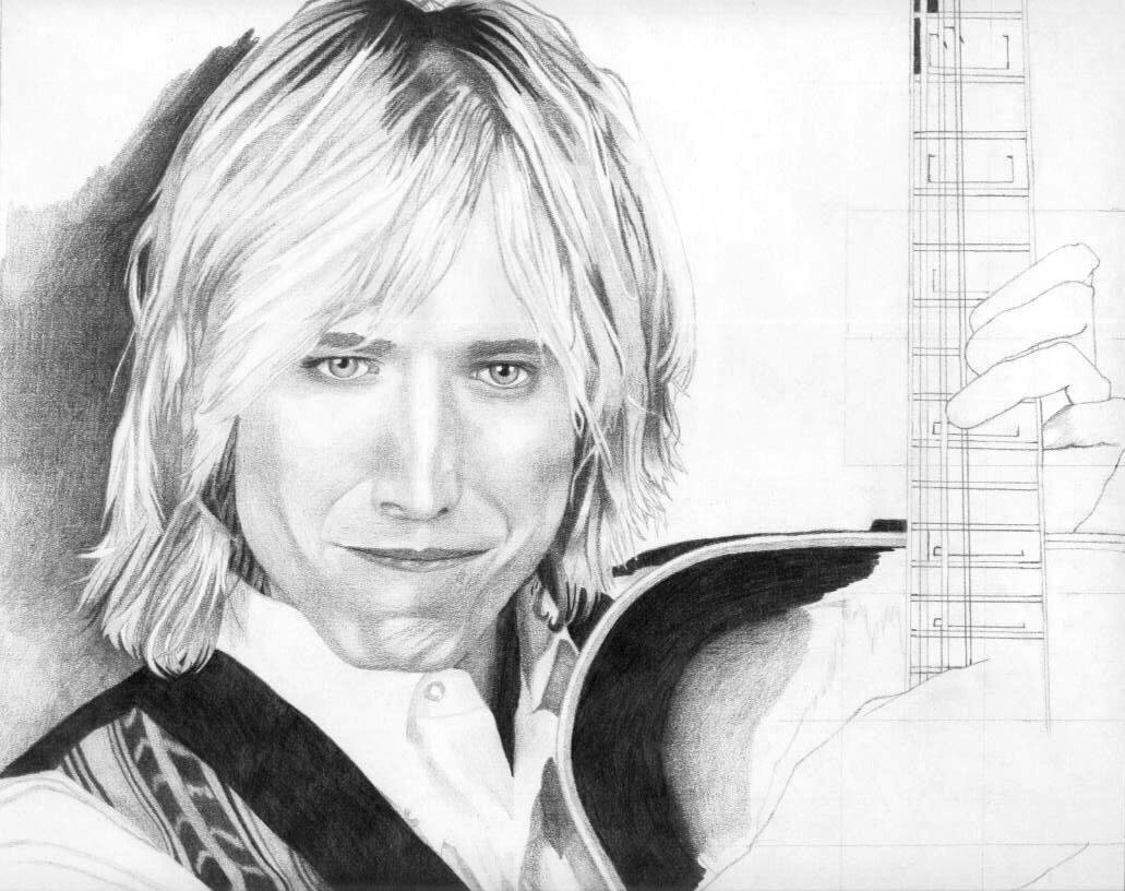 Tom Petty WIP by squallleonhart 1031x816