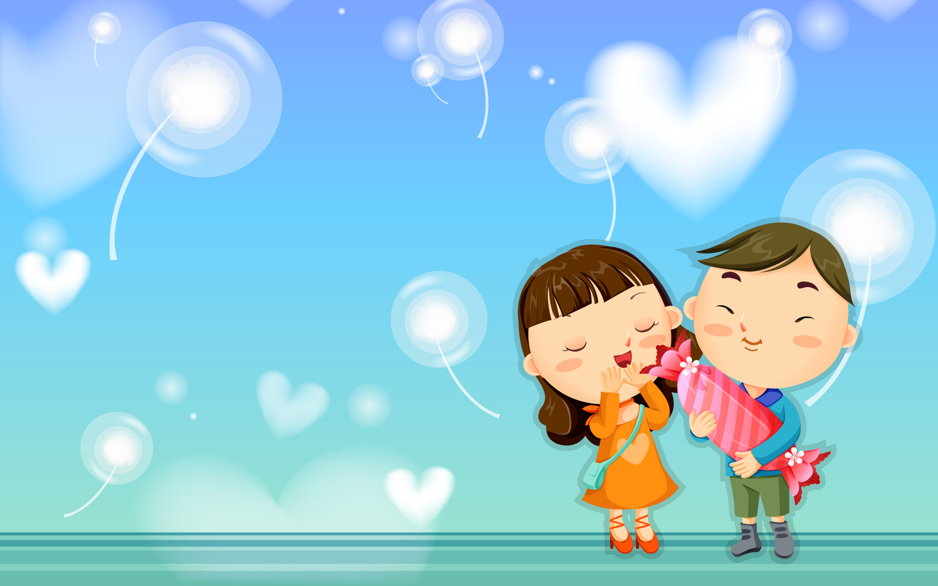 Love Wallpaper cartoon Hd : Love cartoon Wallpaper - WallpaperSafari