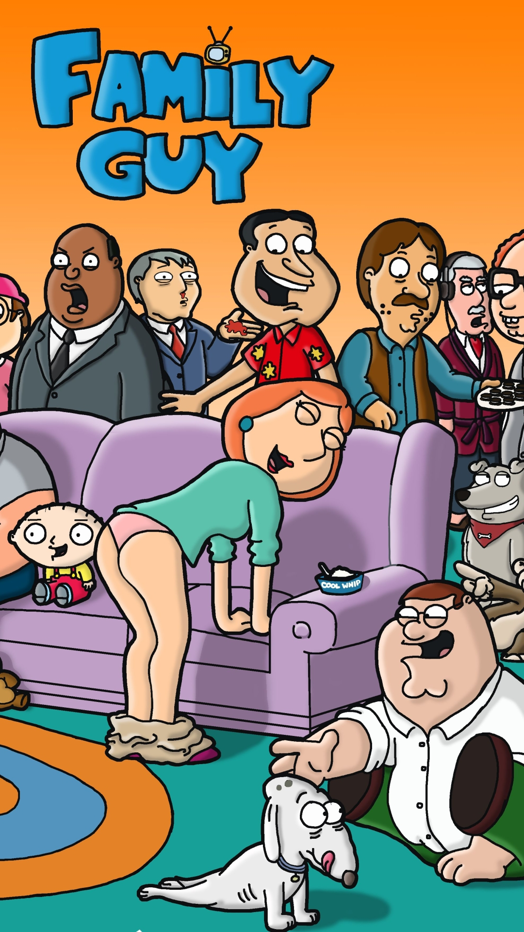 25] Family Guy Supreme Wallpapers on WallpaperSafari 1080x1920