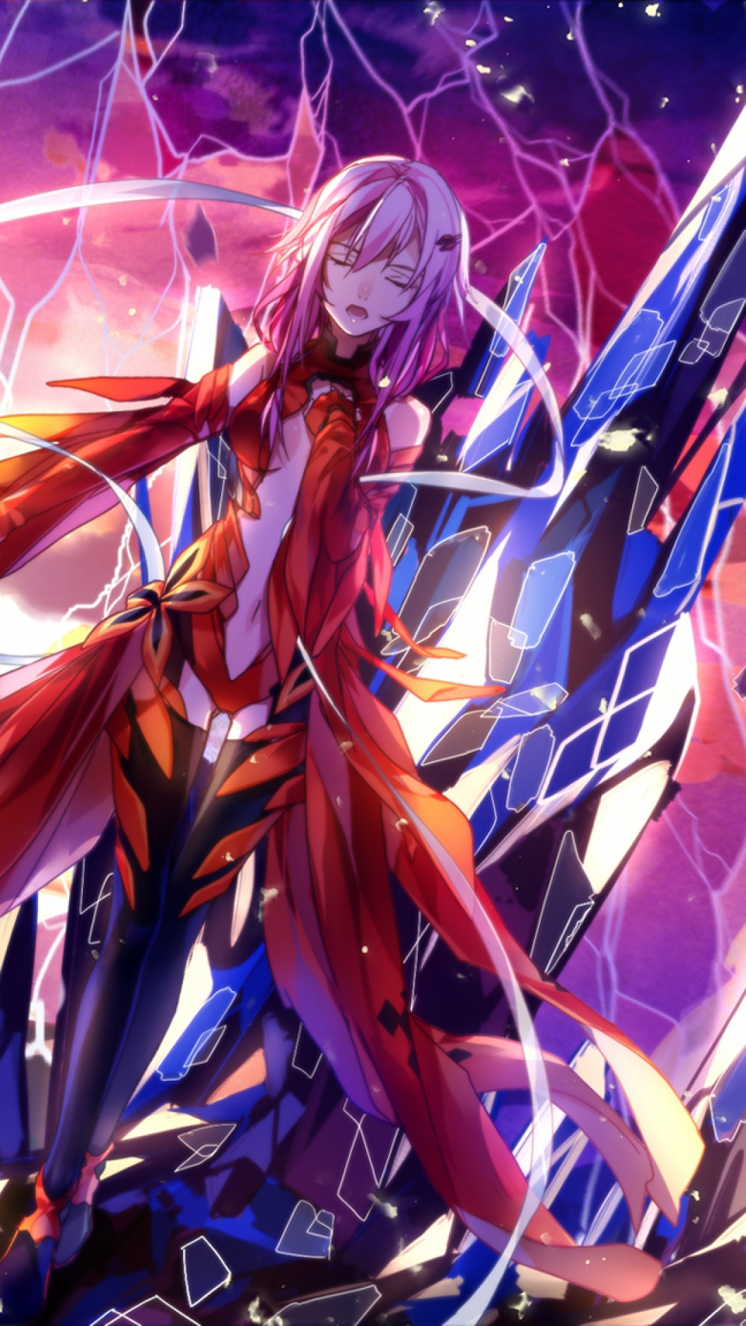 Download Wallpaper 1080x1920 Guilty crown Anime Inori Sony Xperia Z1 1080x1920