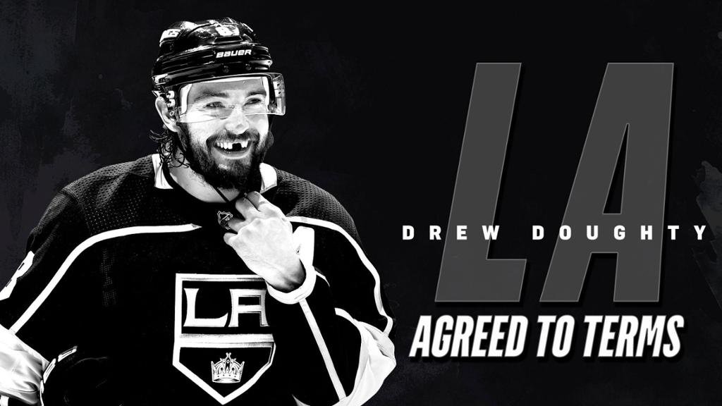 LA Kings Agree to Terms with Drew Doughty on 8 Year Contract Extension 1024x576