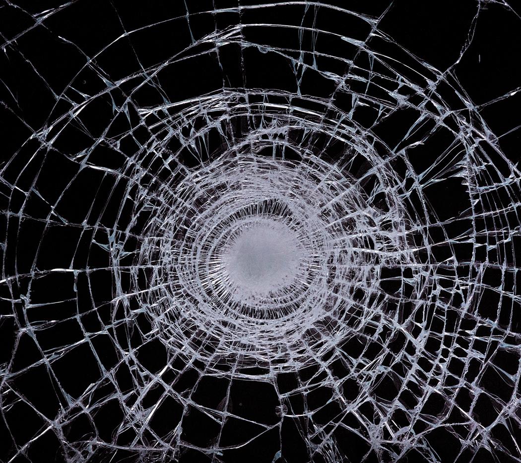 Shattered Glass Window 1050x932