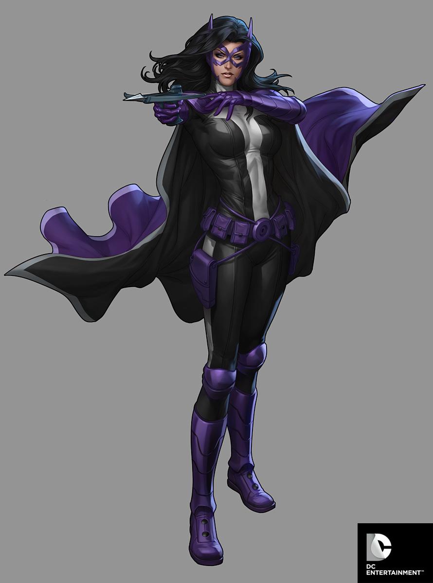 DC Comics Cover Girls   Huntress by Artgerm 890x1200