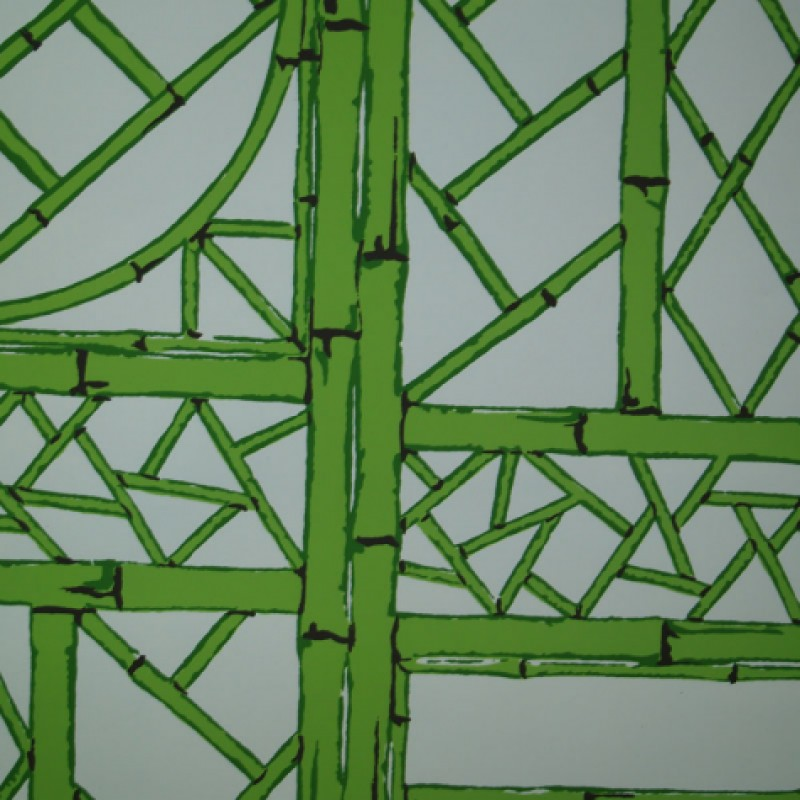 Green Chinese Lattice Wallpaper Set of 2 Rolls 800x800